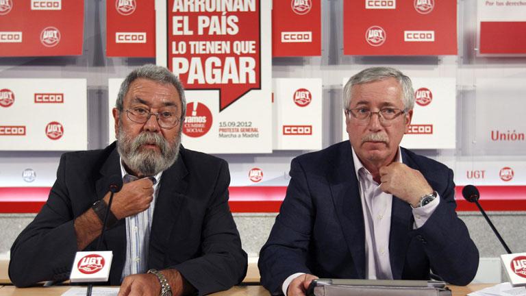 Los sindicatos UGT y CC.OO. y la patronal CEOE intervienen en la cumbre hispanoalemana