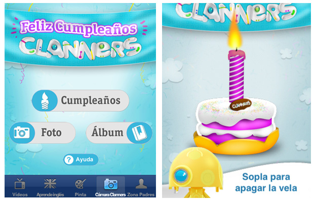 cumpleaños Clanners