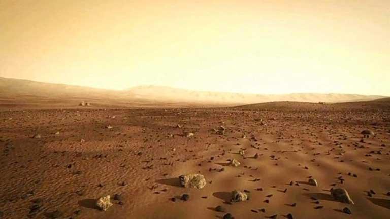 Cuenta atrás para la llegada del robot Curiosity a Marte