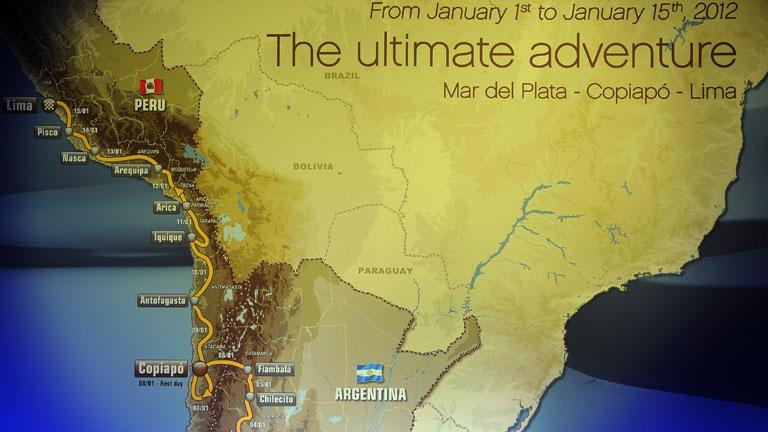 El Dakar 2012 pasará por Perú