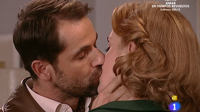 "Amar - Steven: ""Irene, dame un beso que me dure toda la vida"""