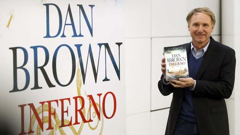 Dan Brown presenta su nuevo libro en Madrid