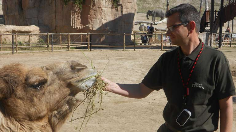 Conectando España - Finestrat: en el zoo