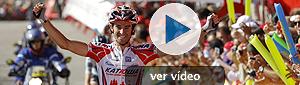 Dani Moreno suma la segunda victoria española en la Vuelta