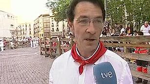 Ver vídeo  'Daniel Azkona nos enseña la llave que guarda los toros en San Fermín 2013'