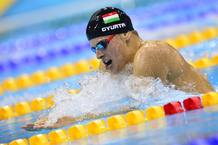 Daniel Gyurta gana el oro en 200m braza