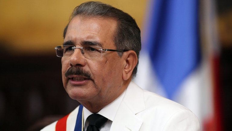 Danilo Medina toma posesi&oacute;n como presidente de Rep&uacute;blica Dominicana