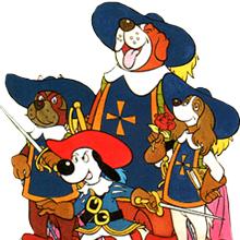 Imagen de un episodio de DArtacan y los tres Mosqueperros