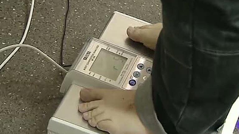 Un cuarto de la población esta contenta con su peso