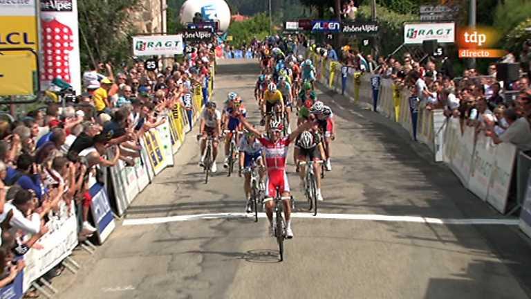 Ciclismo - Dauphiné Liberé. Segunda etapa - 05/06/12