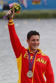 David Cal, medalla de plata en C1 1.000 metros de piragüismo en Londres 2012