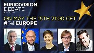 Los candidatos a presidir la Comisión Europea celebran su único debate a cinco