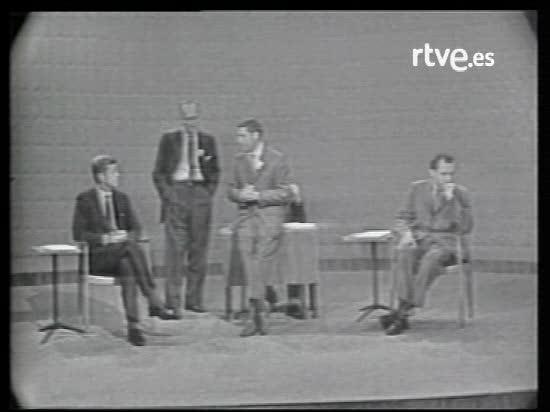 Debate entre Nixon y Kennedy en 1960