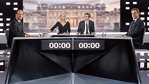 Ver vídeo  'Debate entre Sarkozy y Hollande a cuatro días de la segunda vuelta de las presidenciales'