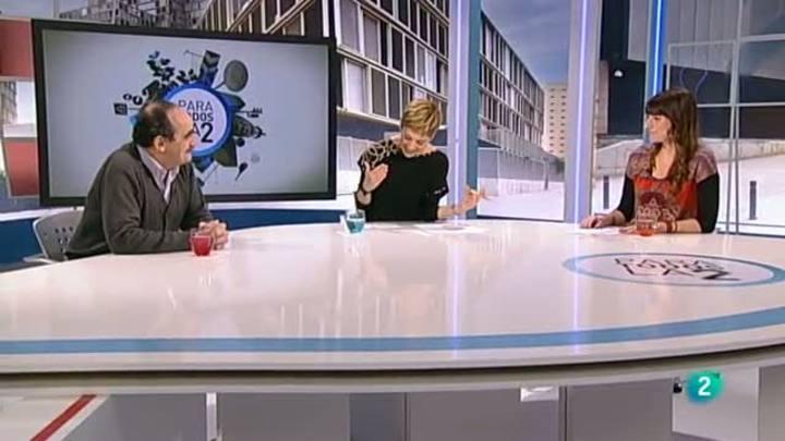 Un momento del debate sobre geotermia en Para Todos La 2 (17 de enero de 2014)