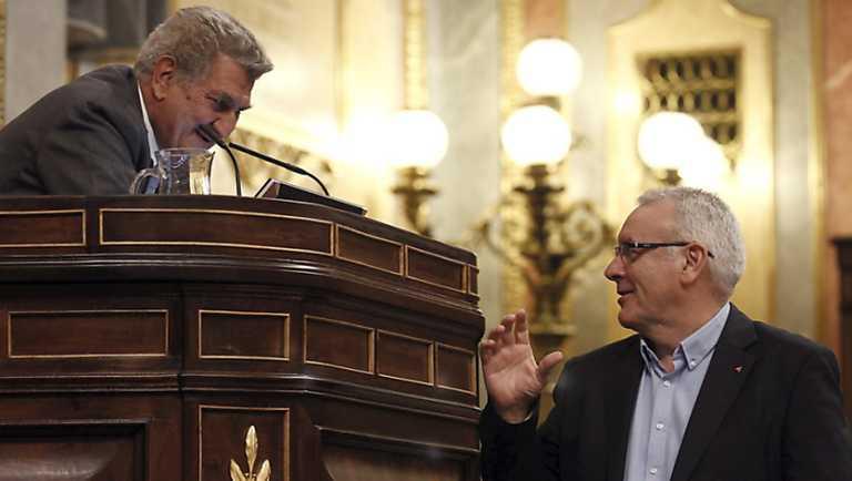 Debate sobre el estado de la Nación 2013 - Cayo Lara, IU. Joan Coscubiela, ICV. Chesús Yuste, CHA