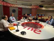 Debate sobre la Ley Sinde-Wert en RNE.