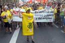 DECENAS DE MILES DE PERSONAS PROTESTAN EN BARCELONA CONTRA LOS RECORTES