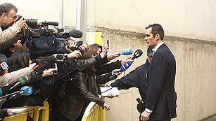 Ver vídeo  'Declaración completa de Urdangarin a su llegada al juzgado de Palma'