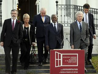 Ver vídeo  'Declaración íntegra de la Conferencia de San Sebastián (inglés)'