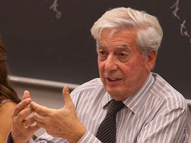 Vargas Llosa: 'El Nobel en gran parte se lo debo a España'