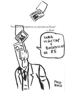 Dedicatoria de Paco Roca