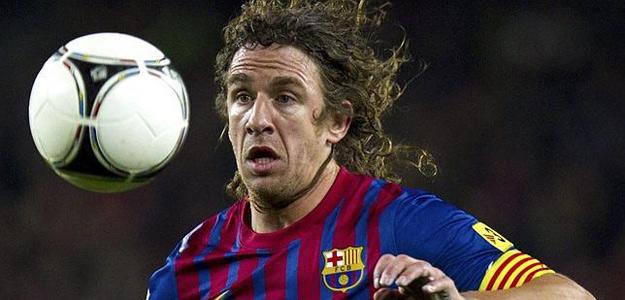 El defensa y capitán del FC Barcelona, Carles Puyol