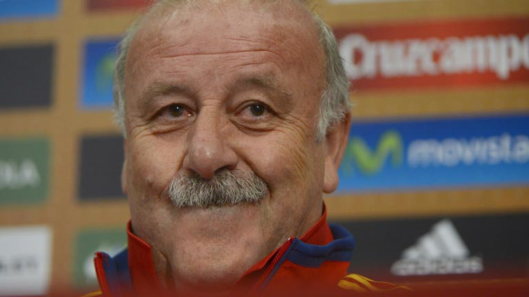 Del Bosque: &quot;En tres o cuatro d&iacute;as no podemos pasar de elogios al pesimismo&quot;