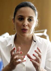 La delegada del Gobierno para la Violencia de Género, Blanca Hernández.