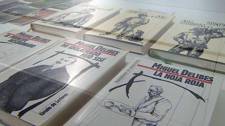 Una exposición recupera 15 personajes infantiles de Miguel Delibes