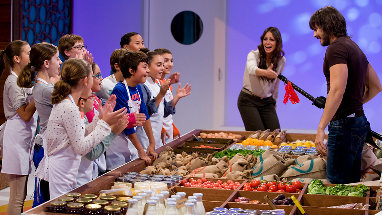 MasterChef Junior - Los niños prepararán el desayuno a Águila Roja
