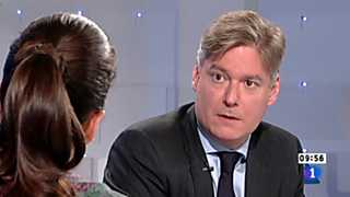 Ver vídeo  'Los desayunos de TVE - Antonio López-Istúriz, secretario general del Partido Popular Europeo'