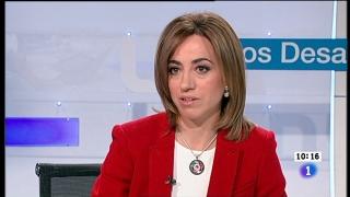 Ver vídeo  'Los desayunos de TVE - Carme Chacón, candidata a la Secretaría General del PSOE'