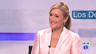 Ver v&iacute;deo  'Los desayunos de TVE - Cristina Cifuentes, delegada del gobierno en Madrid'