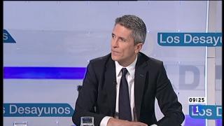 Ver vídeo  'Los desayunos de TVE - Fernando Grande Marlaska, Pte. Sala Penal de la Audiencia Nacional'
