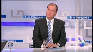 Ver vídeo  'Los desayunos de TVE - José Antonio Monago. Presidente de la Junta de Extremadura'