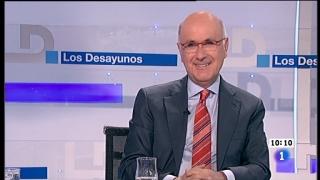 Ver vídeo  'Los desayunos de TVE - Josep A. Duran i Lleida. Portavoz CiU en el Congreso'