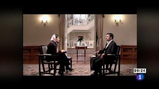 Ver vídeo  'Los desayunos de TVE - Mahmud Ahmadineyad, presidente de Irán'