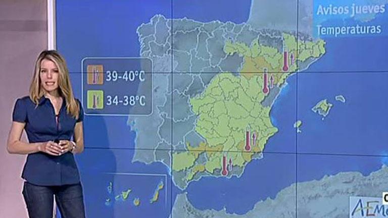 Ver vídeo  'Descenso generalizado de las temperaturas y cielo cubierto en el norte'