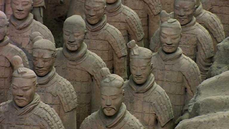 Descubiertos nuevos guerreros de terracota
