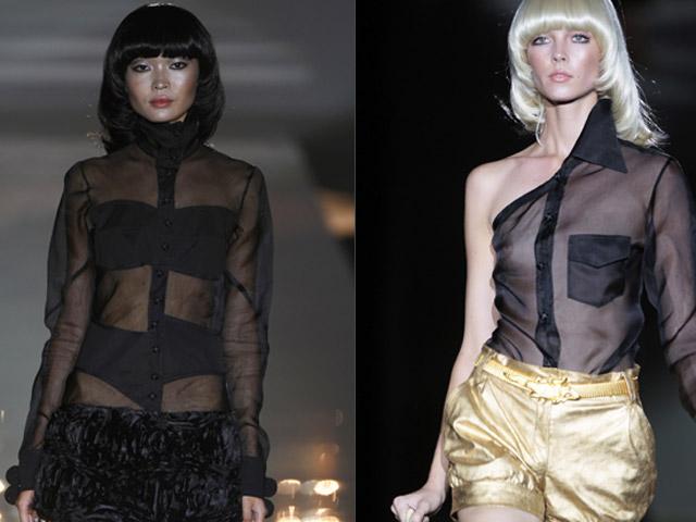 Negro, oro, ámbar y glamour en el desfile de Roberto Verino, este viernes en Cibeles Fashion Week 2011