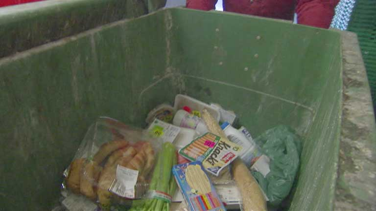 Un estudio de la FAO muestra el increíble despilfarro alimenticio