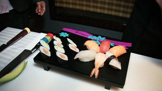Destino: España - Maki Sushi, por Liu
