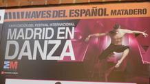 Detalle del cartel del programa de la CND en en el Matadero, en el marco de Madrid en Danza