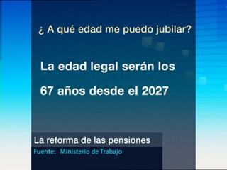Ver vídeo  'Detalles de la reforma de las pensiones'