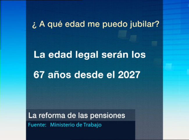 Detalles de la reforma de las pensiones