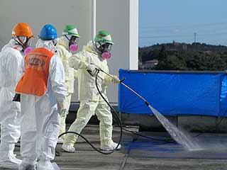 Ver vídeo  'Detectan una fuga de agua radiactiva en la central nuclear de Fukushima'