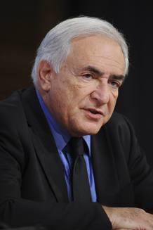 Strauss-Khan se encuentra al frente del FMI desde 2007.