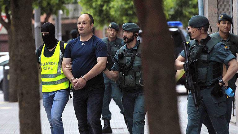 Detenido un presunto colaborador del comando Otazua de ETA en Vizcaya