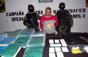 Ver vídeo  'Detienen en México a un jefe de 'Los Zetas', brazo armado del cártel del Golfo'